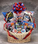 """The Works"" Snack Gift Basket"